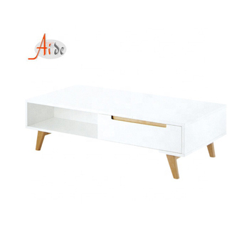 New design cheap white classic tv stand table for home furniture