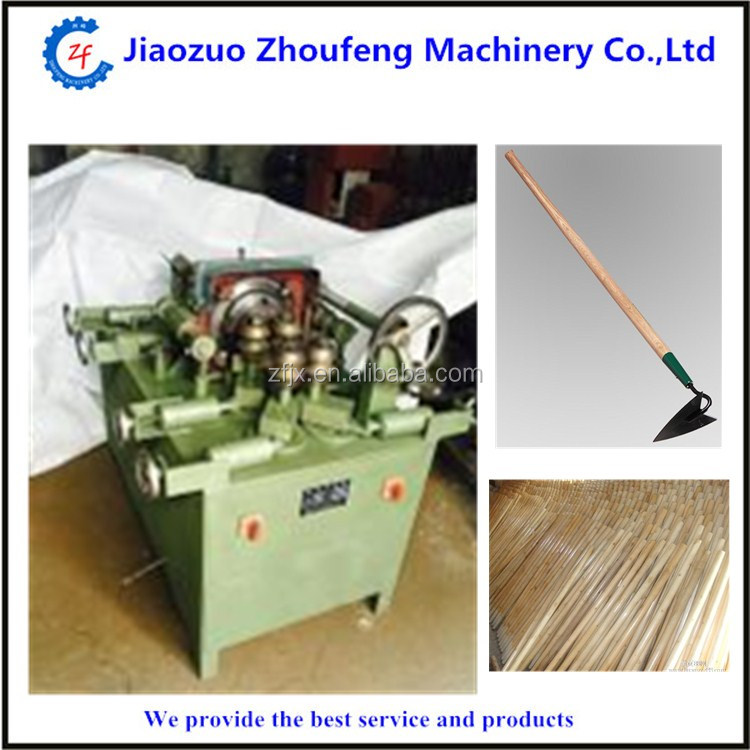 Different size circle lumber round wood handle processing machine