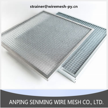 Washable metal air filter/panel filter&filter elements factory direct