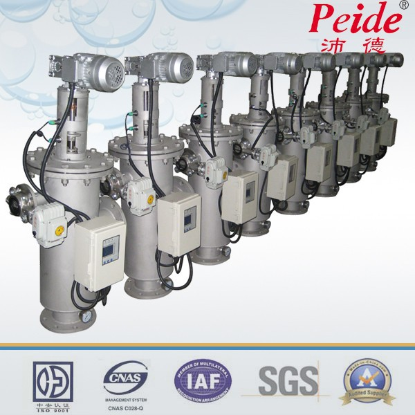 Automatic speciality self-cleaning irrigation filter system
