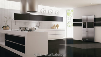UV High Gloss Kitchen Cabinet Color Combination