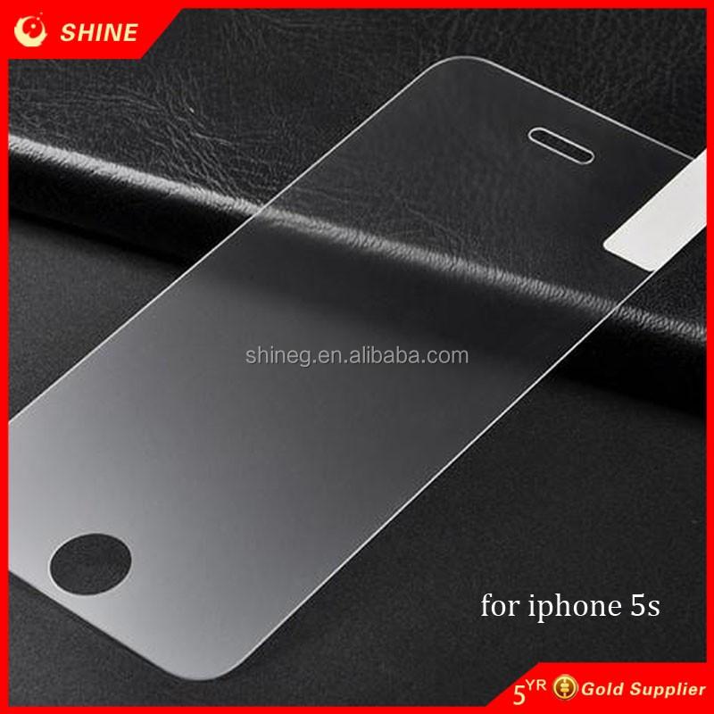 Precio bajo vidrio claro y transparente para iphone 5s protector de pantalla protector de - Vidrio plastico transparente precio ...