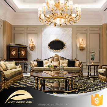 AS03 Luxury Furniture And Luxury Sofa Sets In Living Room