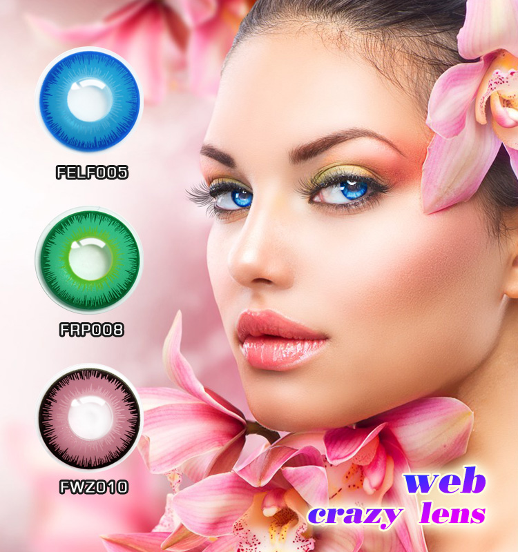 Mayoristas contactos de Halloween ojo grande contacto barato venta caliente  lentes de contacto 55d229783a2