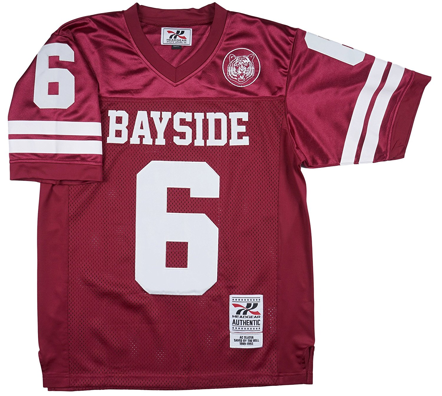 Buy Saved By The Bell AC Slater  6 Bayside Mens Football Jersey in ... 681644404491