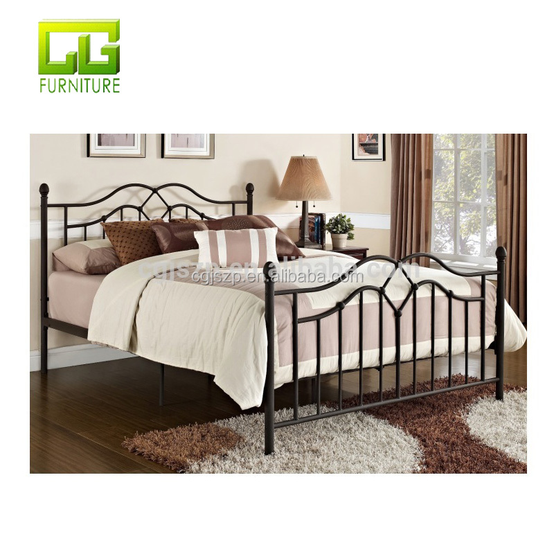 Top selling Modern classic design metal bed full size