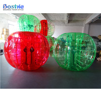 Inflatable toys style bubble ball for sale, inflatable bumper bubble ball, bubble ball for football