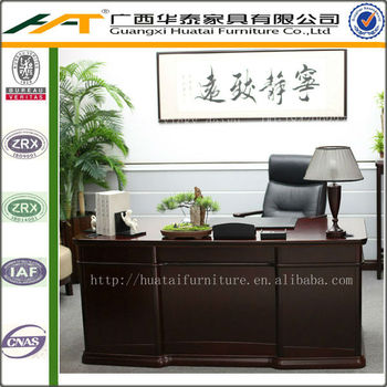 Chinese Style Home Study Room Boss Executive Desk Office Furniture