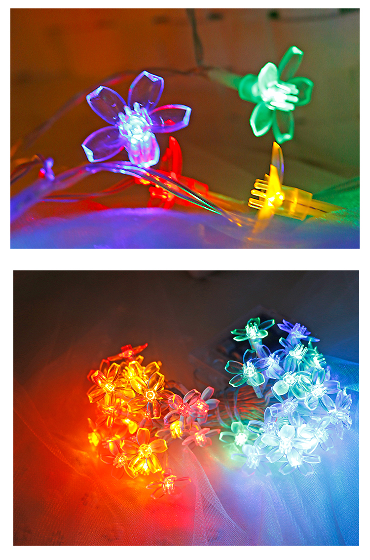 USB Star Fairy LED String Light Battery Powered Holiday Garland Christmas Wedding Party Fairy Star Light