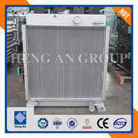 Aluminum China generator oil radiator