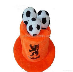 Funny Fans Top Hat Football Party soccer ball canada flag hat BHAT-2385