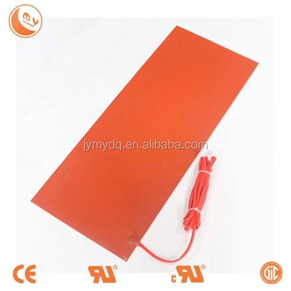 customized silicone rubber heater food warmer heat element