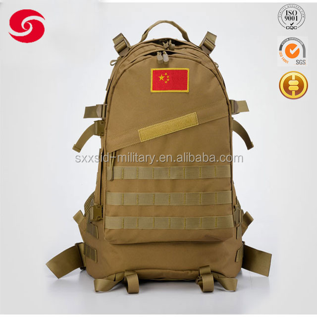 US army military assult 3D backpack, men 3D travel hiking backpack large military backpack