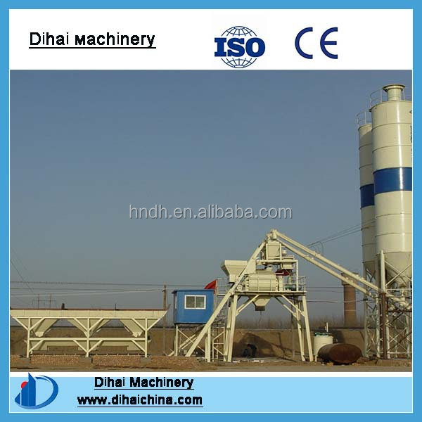 HZS35 Low Cost Smart Mix Concrete Batch Plant for sale in good condition