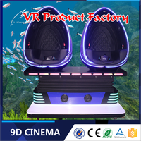 Fun games for kids to play 360 rotating 9d vr cinema theater with amazing special effects