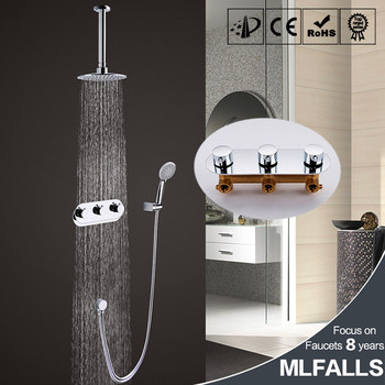 Bathroom Products In Wall Mounted Bath Faucet Mixer Tap Rain Shower Set With Head