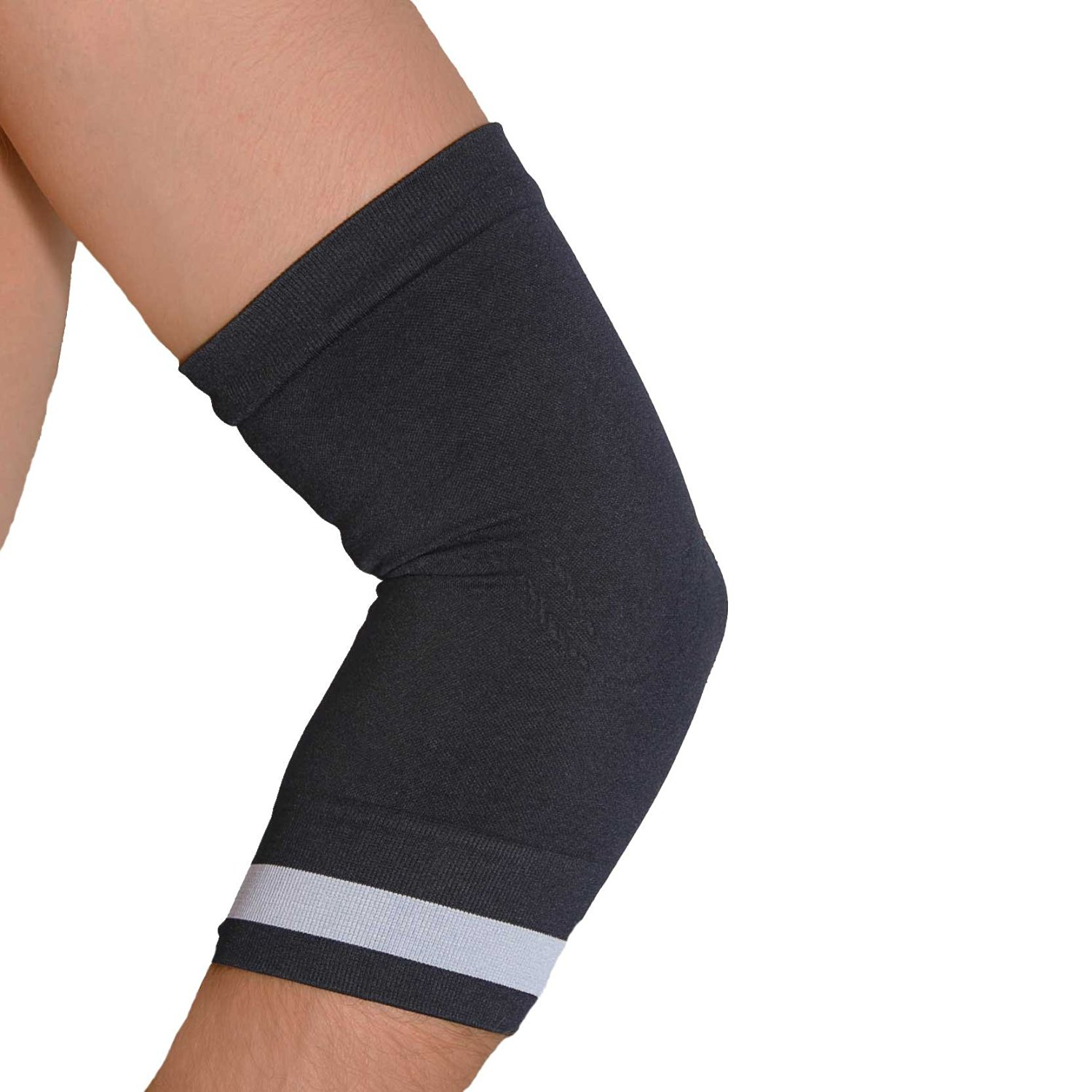 769ba8df73 Get Quotations · Sport Compression Elbow Sleeve - Relieve Tennis Elbow,  Lightweight Elbow Brace