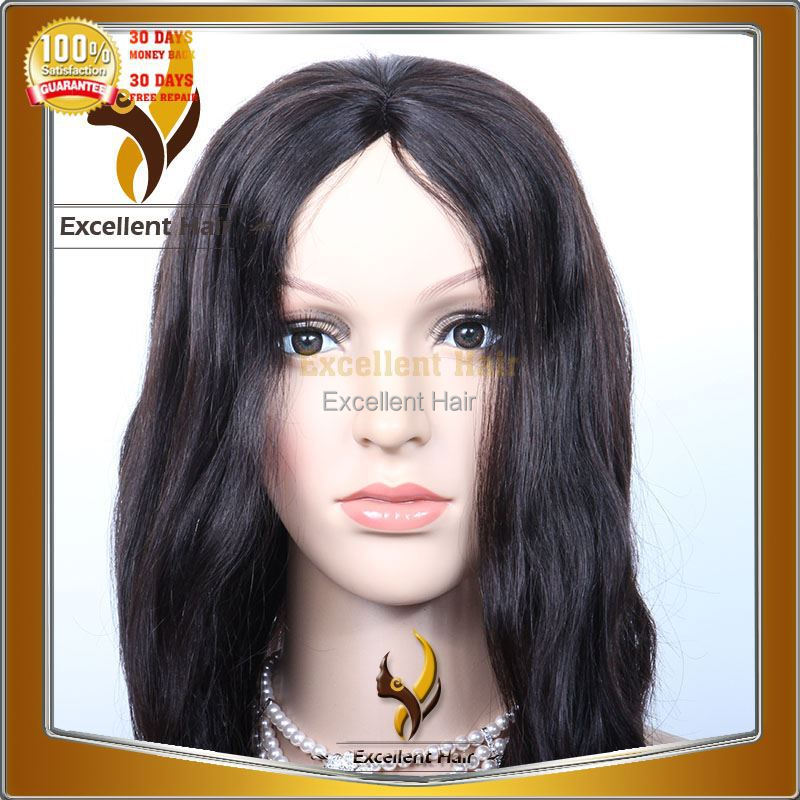 2013 new fashion 100% indian human hair lace front wig