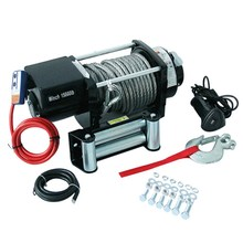 15000lbs REMOTE CONTROL Steel Electric Winch 12V/24v Wire Cable 4x4 4WD Truck heavy duty work winch