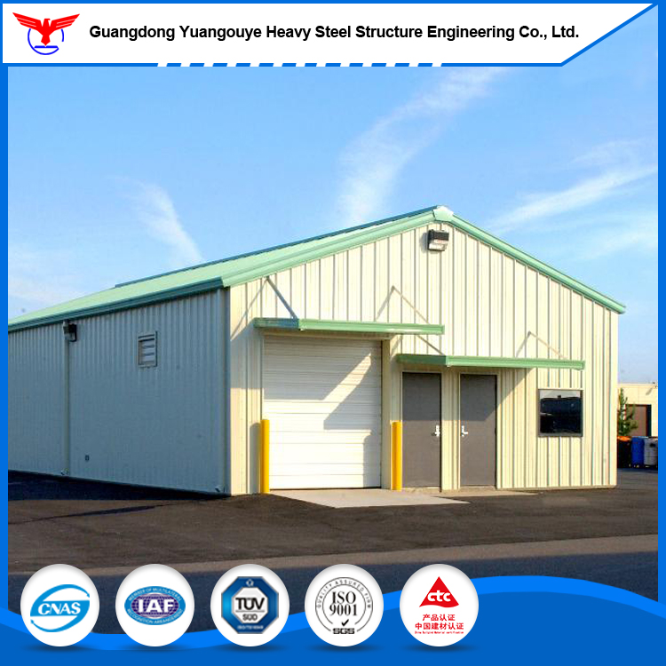 Prefabricated mobile house/steel structure warehouse of light type