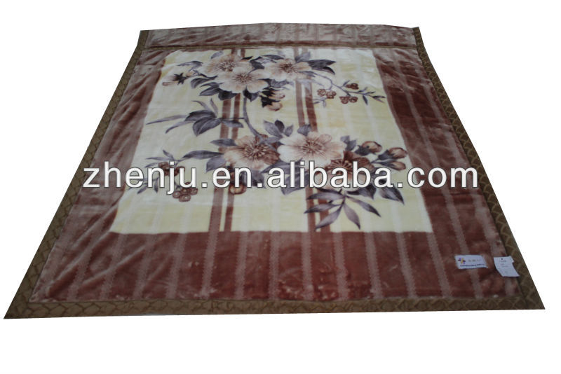china factory korean stock blanket (HXCC-16)