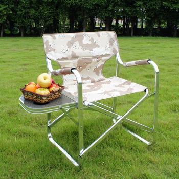 Onwaysports Modern Foldable Outdoor Aluminium Camo Sand Beach Fishing Chair  Folding