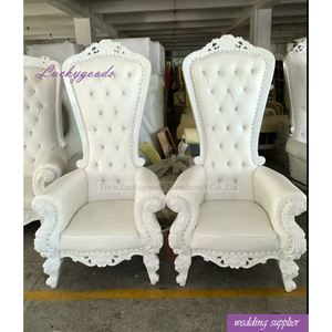 LYZ021 hot sale high back king throne chair antique throne chairs on sale