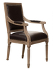 2015 modern comfortable style chinese dining chair with hand carved cane back