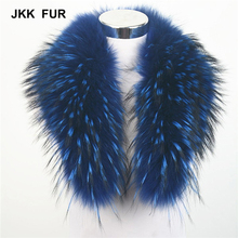10 Colors Real Raccoon Fur Collar Women Winter Fashion Jacket Scarf Lining 80cm For Hood Trim Wholesale