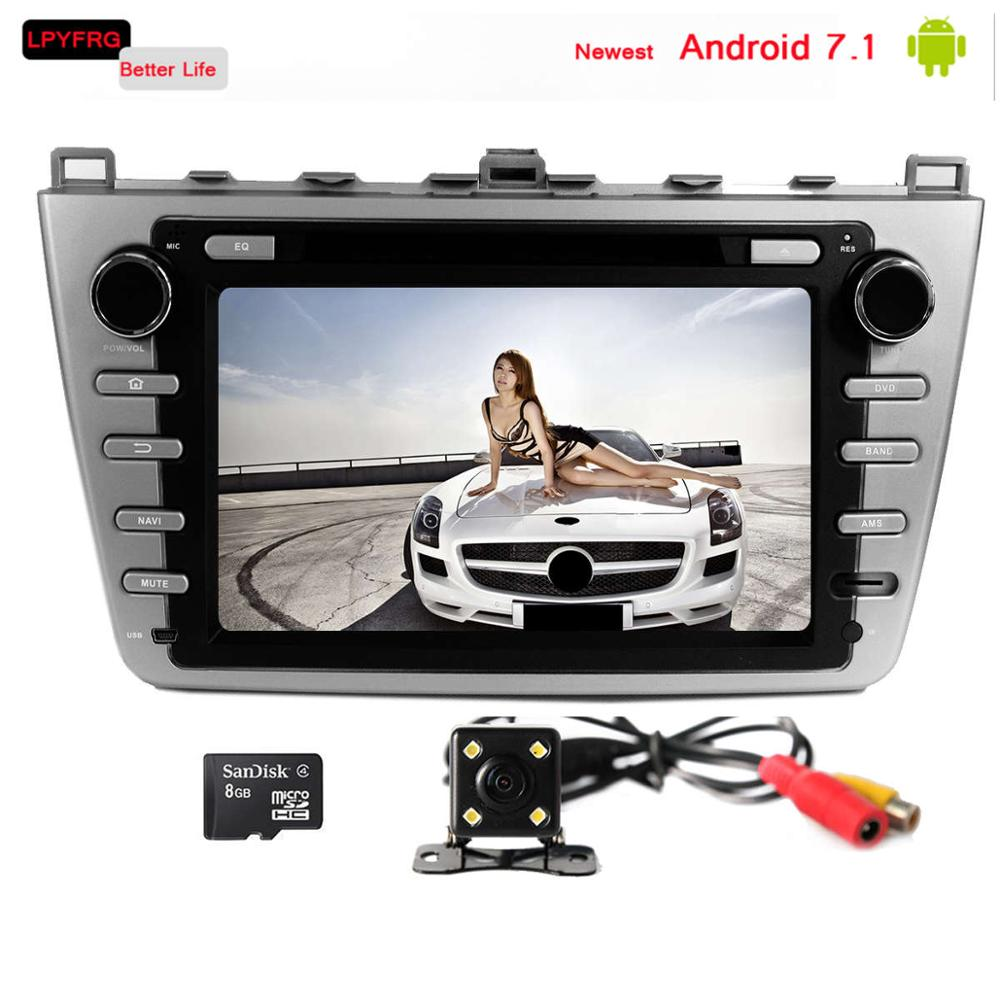 8 inch touch screen mazda 6 dvd player with gps navigation bose system