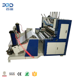 Automatic Roll Thermal Paper Fax Paper Log Roll Cutting Machine Slitter Rewinder Thermal Paper Slitting Machine