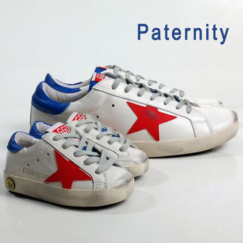 BBK GGDB Golden Goose baby shoes fashion sneakers superstar baby boys girls shoes Genuine Leather Sports
