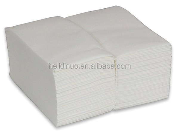 Soft White Linen Feel Guest Towels, Strong and Absorbent Premium Disposable Cloth Kitchen and Bath Napkins