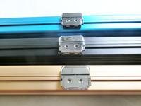 Aluminum Billiard Snooker cue case, Hard Metal 3/4 Snooker Cue Case