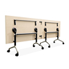 Foldabe Commercial Use Folding Training Table with Wheels