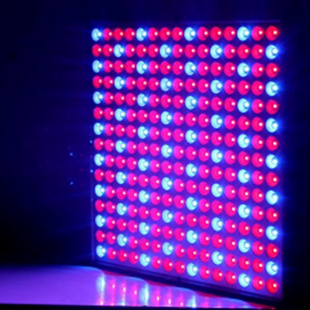Echosari® Hydroponic LED Plant Grow Lights, 14w, 12 Inch X 12 Inch, 165 Red LED and 60 Blue LED Growing Lamp for Greenhouses, Plant Factory, Flower Farming, Indoor Gardens, Tissue Culture