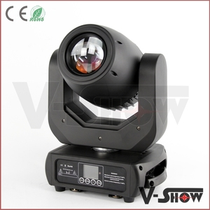 Newest 150W moving head gobo lighting and Vshow 150w led spot moving head gobo dj disco lighting for party