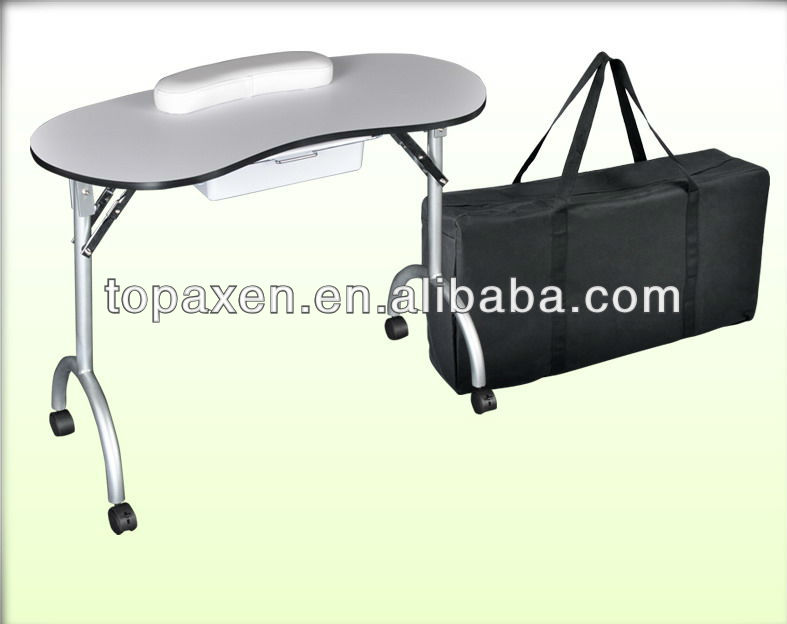 Foldable Portable Manicure Nail Art Table Desk Station Hairdressing ...
