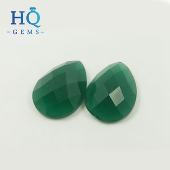Oval Cut Green Jade Color Flat Back Checker Gl Gems Stone