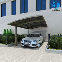 garden carport with aluminum frame high quality for car parking