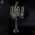 wedding table decoration crystal hurricanes candelabra