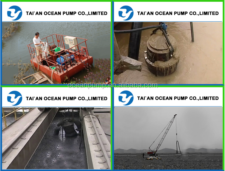 Submersible slurry sand pump with bottom impeller and extra agitator