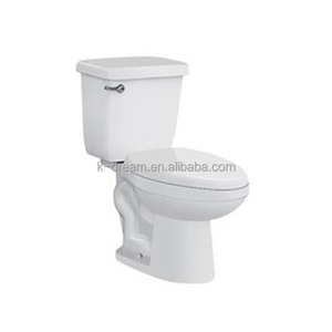 2 piece dual flush toilet , bathroom water cheap closet KD-T007TP