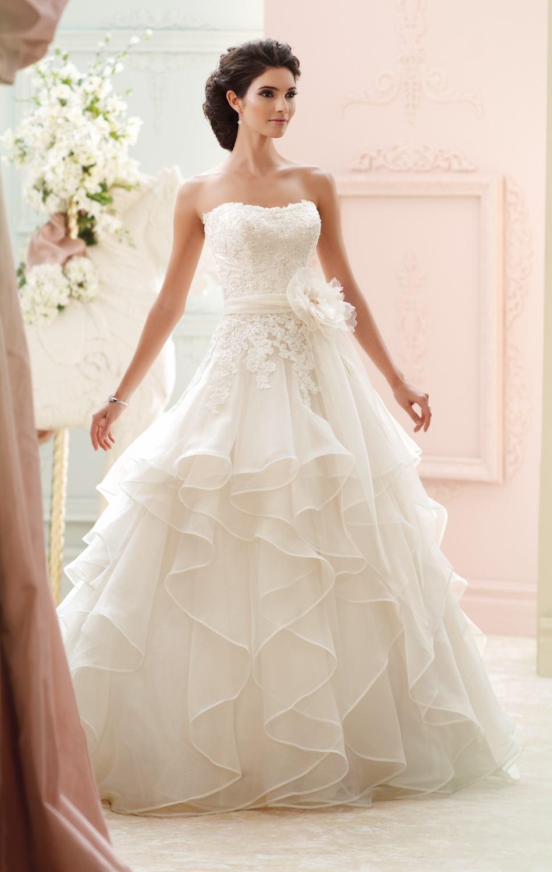 Chiffon women country western wedding dresses 2015 sash ...