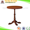 (SP-RT459) antique style delicacy wooden round cafe table