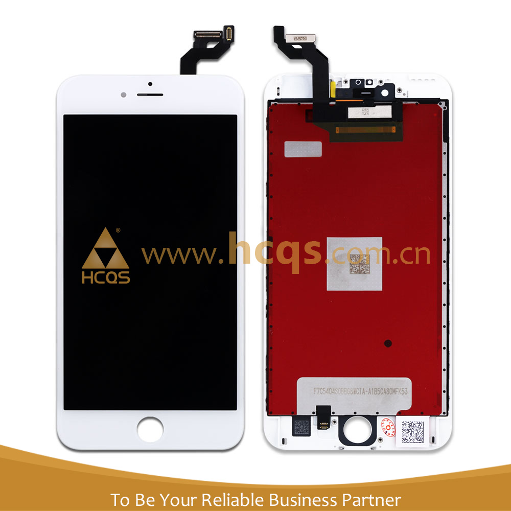 Used mobile phones for iphone 6s plus lcd touch screen complete for iphone 6s plus replacement assembly