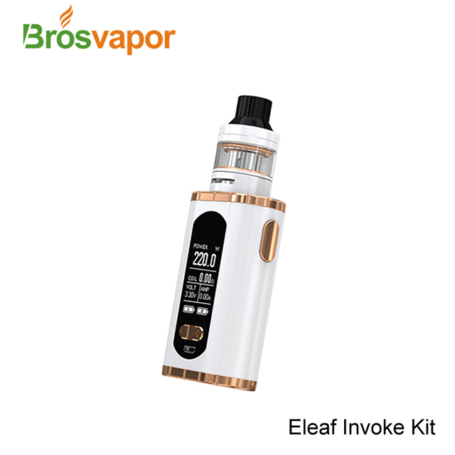 Eleaf 1.3 inch Large OLED Screen 2ml / 4ml Ello T Atomizer 220W Eleaf Invoke Kit