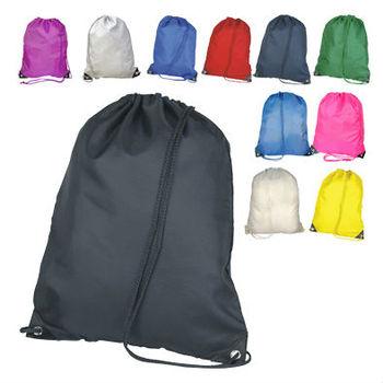 Book Cute Strong Drawstring Backpack Bag