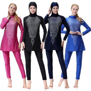7891c8d9a32ce Plus Size Adult Arab Swim Wear Beachwear Muslim Swimwear For Muslim Women