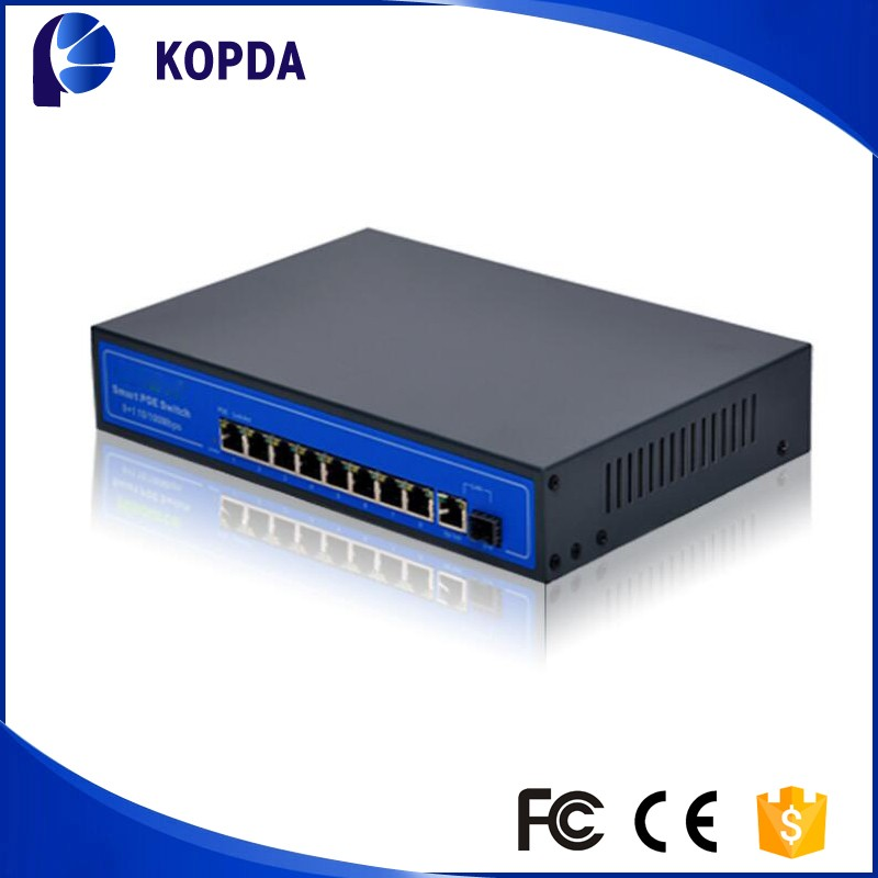 Backplane bandwidth 1.6Gbps fast ethernet 10/100mbps 4 port poe switch